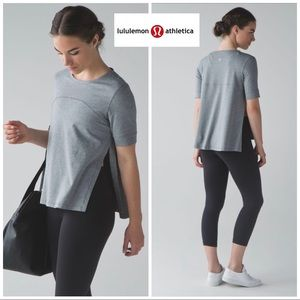 NEW Lululemon Dash to Class In Heathered Gray